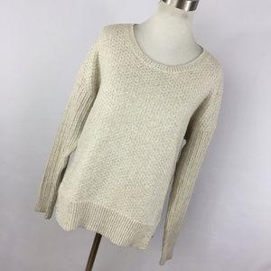 Madewell M Medium Sweater Tan Light Beige Soft